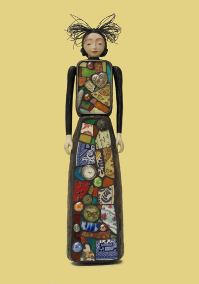 Judy Jordan, Figurative Gallery, Our Lady of Broken Pottery