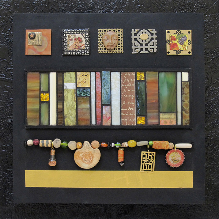 Judy Jordan,  Non Figurative Gallery, Artifacts and Elements lI